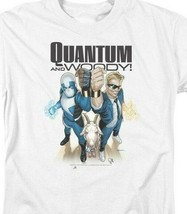 Quantum and Woody T Shirt Valiant Comics 1990s comic book graphic tee VAL182 image 2