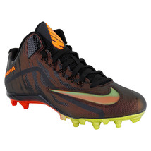 NEW SIZE 13 NIKE ALPHA PRO 2 3/4 TD LE MID FOOTBALL CLEATS 820280-878 MS... - $39.59