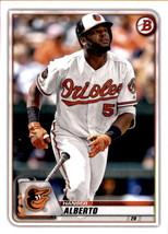 2020 Bowman #87 Hanser Alberto NM-MT Orioles - $0.99