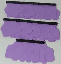 Destron Fearing DuFlex Visual ID Livestock Panel Tags Purple Blank Large 25 Sets image 6