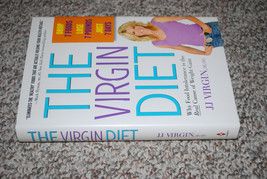 The Virgin Diet JJ Virgin Weight Loss Plan Recipes Hardcover Book 3 Cycl... - $13.32