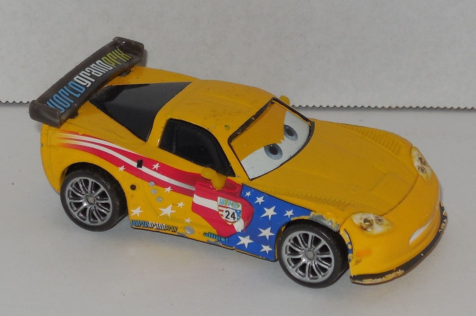 Disney Cars Wgp World Grand Prix Jeff and 50 similar items. S l1600