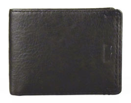 NEW LEVI'S MEN'S PREMIUM LEATHER CREDIT CARD ID WALLET BILLFOLD BLACK 31LV13C7 image 4