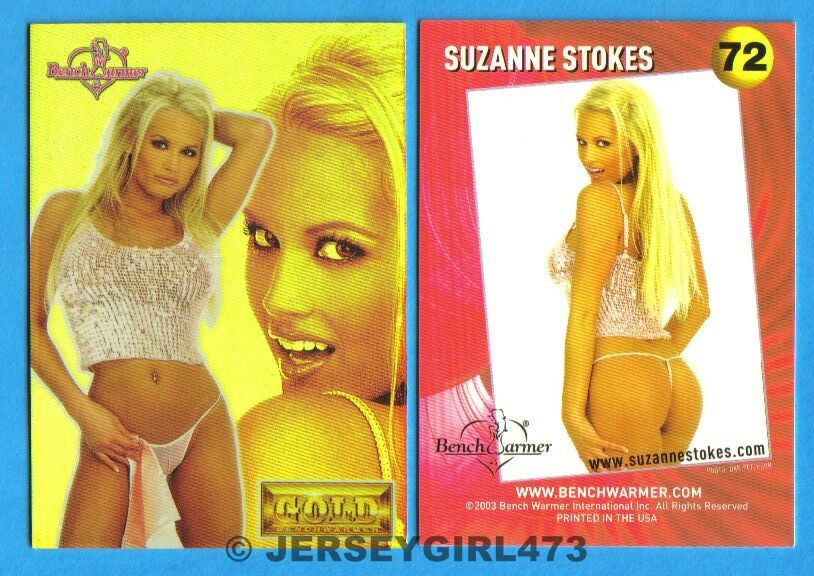 Suzanne Stokes 2003 Bench Warmer Gold Edition Card #72