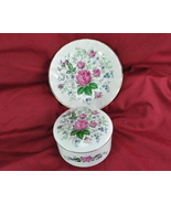 Royal Stafford Set of 2 Victorias Secret Bone China Soap Dish Powder Dish - $25.00
