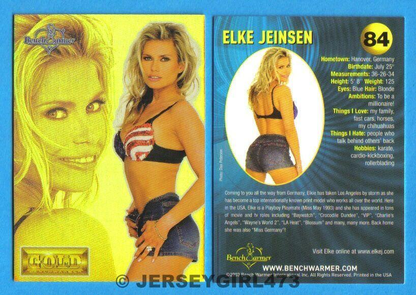 Elke Jeinsen 2003 Bench Warmer Gold Edition Card #84