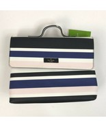 Women's Black Kate Spade Lita Laurel Way Print Cosmetic Bag, - $56.97