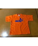 Boys Kids 4 Tops 4Tops Holland Orange T-Shirt Size 5/6 100& Cotton - $3.95