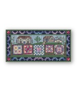 Airing The Spring Quilts counted canvaswork chart w/canvas From Nancy Ne... - $15.30