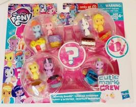 My Little Pony Sparkly Sweets Cutie Mark Crew minis Exclusive set S1 - $257,52 MXN