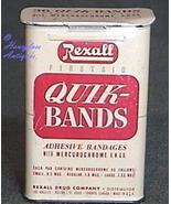 Rexall Firstaid Quik-Bands Bandage Tin - $11.70