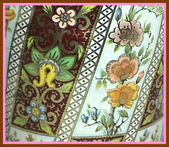 Floral Tin Made In England