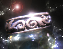 HAUNTED RING MASTERFUL BODY TRANSFORMATION MAGICK HIGHEST LIGHT OOAK MAGICK - $3,883.11