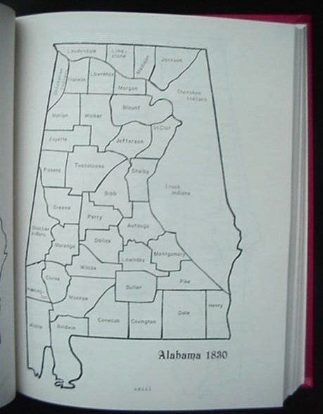 Old Cahaba Land Records Military Warrants Book Alabama