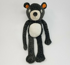 """16"""" Circo Target Forest Black Spotted Teddy Bear Stuffed Animal Plush Toy 2015 - $45.82"""