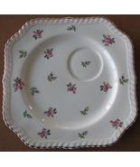 Johnson Brothers Tea Snack Plate Old English Pink Roses China England - $9.93