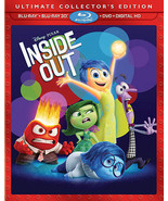 Inside Out (Blu-ray/DVD, 2015, 3D Includes Digital Copy) - $13.49