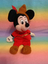 "Walt Disney Brave Little Tailor MicKey Mouse 9"" Bean Bag Plush - as is -... - $5.89"