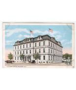 Post Office Raleigh North Carolina 1920s postcard - $5.94