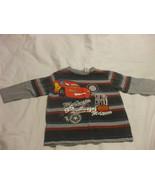 Disney Pixar Lightning McQueen Long Sleeve Sweater 3X 100% Cotton Boys G... - $7.92