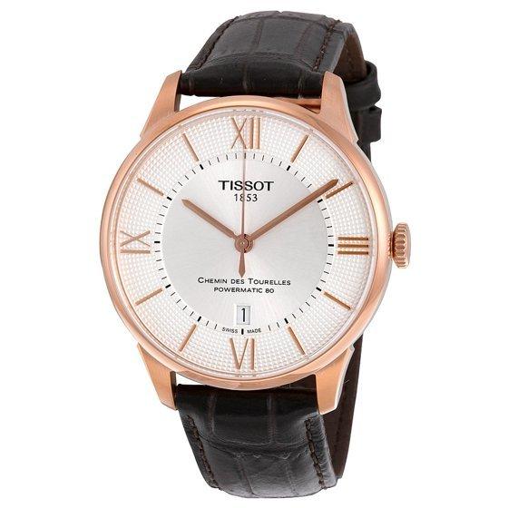 Tissot Chemin Des Tourelles Powermatic 80 Mens Watch T0994073603800