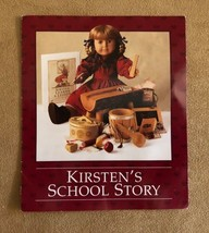 Kirsten's School Story pamphlet booklet Pleasant Company American Girl doll - $16.50
