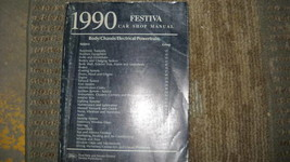 1990 FORD FESTIVA Service Repair Shop Manual OEM 90 FACTORY BOOK DEALERSHIP - $32.02