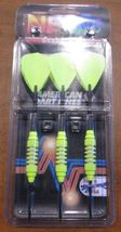 Bottelsen Super Alloy NEON Yellow Buzz Bomb Steel tip 18 Gram Dart Set 1... - $21.50