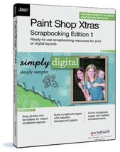 Paint Shop Xtras Scrapbooking Edition 1  Simply Sampler - $15.00