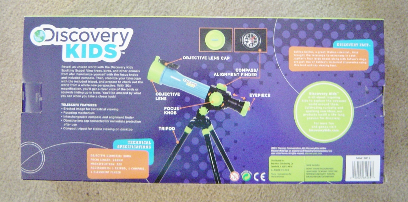 Discovery Kids Telescope 30MM Spotting Scope With Tripod