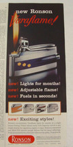 1959 Ronson Varaflame Lights for Months Adjustable Flame Fuels in Second... - $9.99