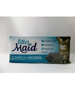 LitterMaid Odor Absorbing Litter Box Carbon Filters 12 Pack - $8.00