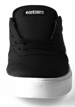 Etnies Black/White/black RCT Lace-Up 10 C US Toddler Skate Shoes Sneakers NIB image 2