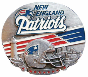 New England Patriots Belt Buckle