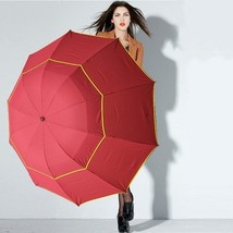 British Style 130cm Oversized Fold Anti-UV Umbrella rain Women Outdoor B... - $29.49