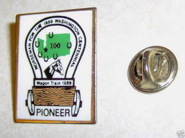 Horseman for the 1989 Washington Centennial Pioneer Pin - $4.99