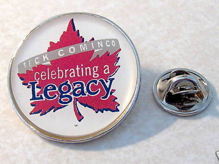 Teck Cominco Celebrating a Legacy Canada Leaf Pin