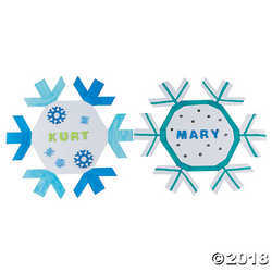 DIY Bulletin Board Snowflakes