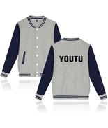 XXS-4XL Shawn Mendes YOUTU Printed Baseball Jacket Warm Buckle Outwear Tops - $19.00+