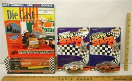 3pc 1992 Matchbox Pontiac #48 Hylton Ford #15 Allison Slim Jim #44 Labonte NIB - $32.71
