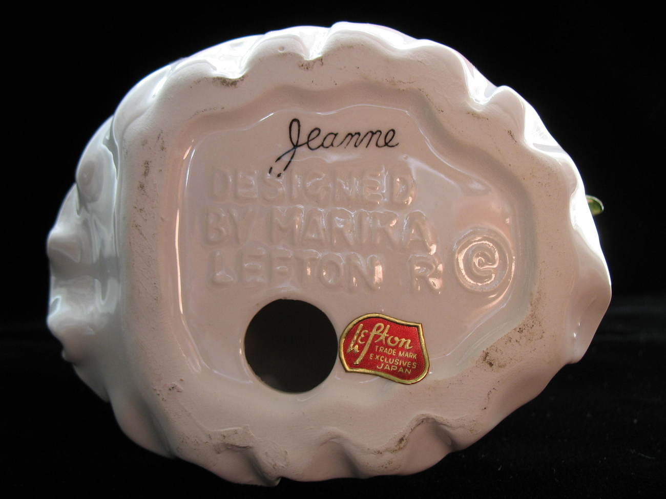 LEFTON Porcelin Vintage Figurine - Jeanne