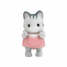 Sylvanian Families baby doll grayish cat gray Irish family cat (japan im... - $35.50