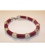 Red Hearts Loving Chainmaille Bracelet - $18.50