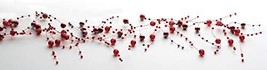 Sullivans 5' Long Red Pearl Beaded Garland