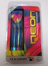 Elkadart NEON 20-3605-18 18 Gram Colour Coated Brass 2ba Soft Tip Dart Set - $21.99
