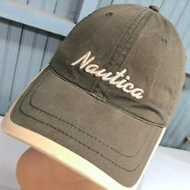 Nautica Two Tone Strapback Baseball Cap Hat - $13.75