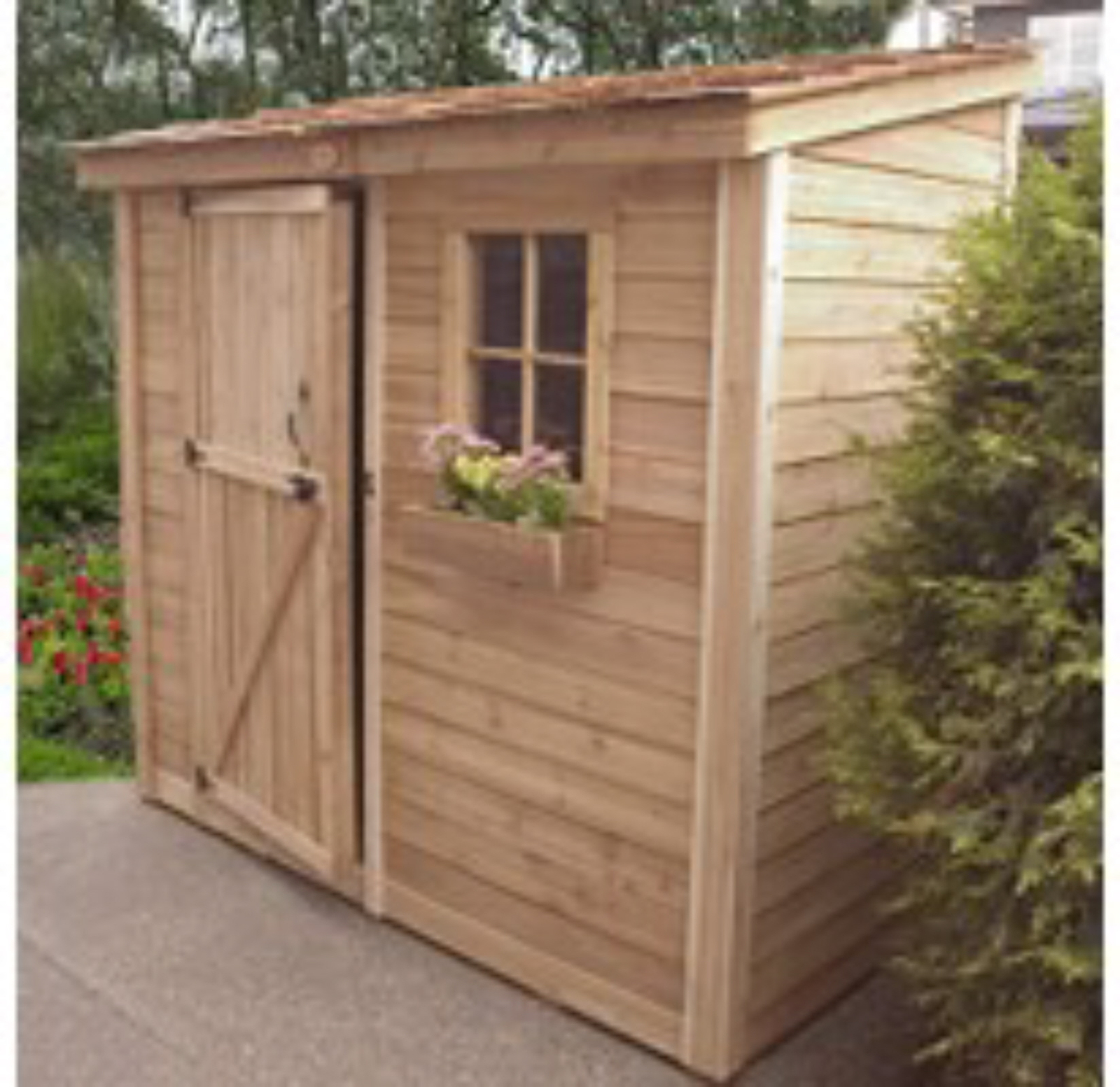 Space saver shed a
