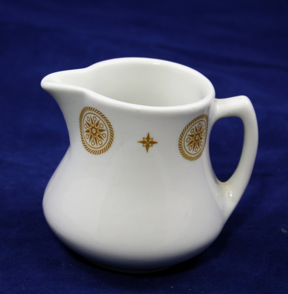 Shenago Creamer Restaurant Ware China - EX. Condition