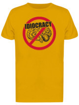 Idiocracy No Brain Men's Gold T-shirt - £15.06 GBP+