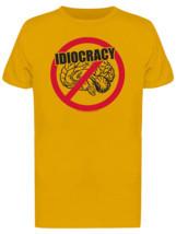 Idiocracy No Brain Men's Gold T-shirt - £15.19 GBP+